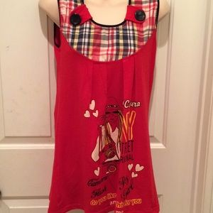 New Top for girls 8-11 yrs old